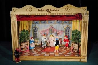 Loutkové divadlo INTERBUBAK Basic Plus 6 loutek