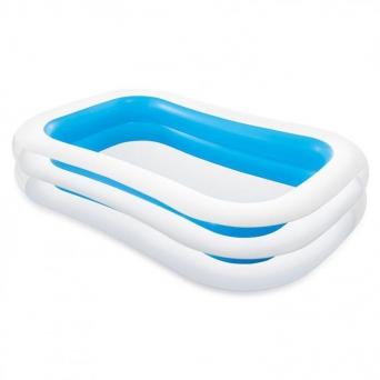 Bazén INTEX 56483 nafukovací FAMILY obdélník 262x175x56