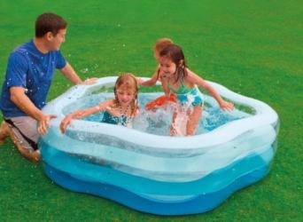 Bazén INTEX nafukovací Pětiúhelník 185x180x53- 56495