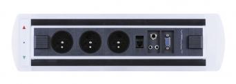 Zásuvkový elektricky otočný panel Vault BTCZ 004