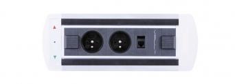 Zásuvkový elektricky otočný panel Vault BTCZ 009
