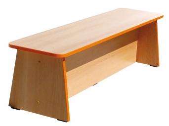 Dětská dřevěná  lavička na sezení 120 cm 0L077M