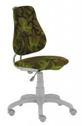 Dětská studentská rostoucí židle Fuxo ARMY