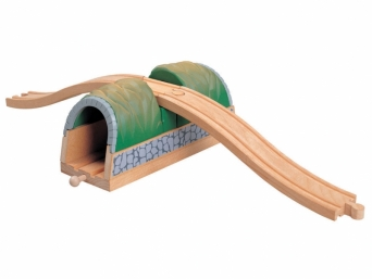 Dětský dřevěný Tunel s nadjezdem 5850458