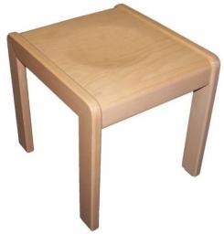 Dřevěná dětská stolička HOCKER - 17.026.00 /H