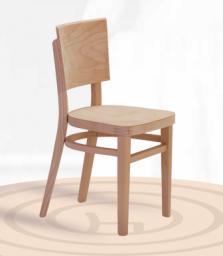 Dřevěná dětská židle Linetta Kinder 1394