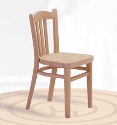 Dřevěná dětská židle Lucena 1395