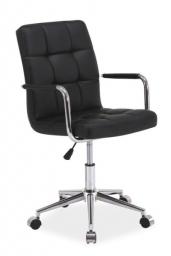 Kancelářská židle (křeslo) Q022 - černá