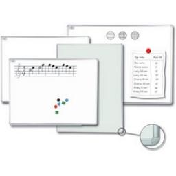 Magnetická tabule Manažer L povrch emailový 60x90 cm