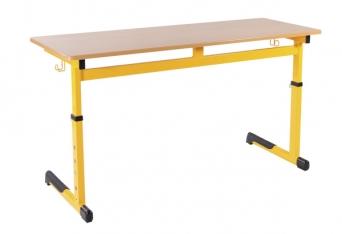 NERO VERSO lavice výškově stavitelná dvoumístná 007