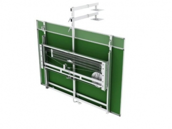 Pružinový tabulový pojezd pro tabule 120 cm vč. madla  PP1/M