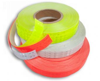 Reflexní samolepicí páska - bílá