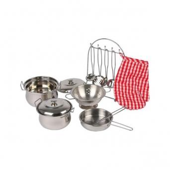 Sada kovového nádobí pro děti 548968