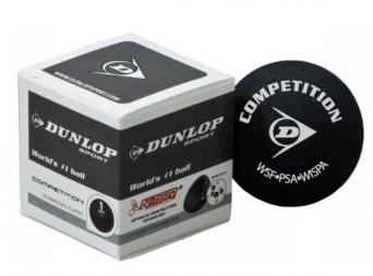 Squashový míček Dunlop COMPETITION - žlutá