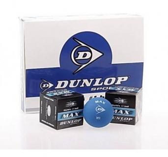 Squashový míček Dunlop MAX - modrá