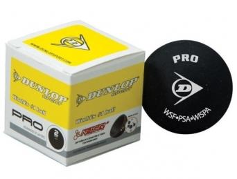 Squashový míček Dunlop PRO - 2 žluté