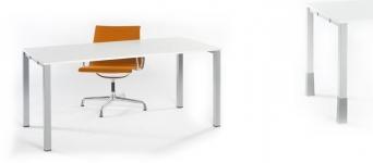 Stůl RÁM s čtvercovou podnoží CUBO50 100x60x73,5cm (ŠxHxV)