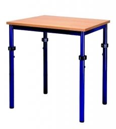 Univerzální stůl výškově stavitelný obdélníkový 80x60 cm