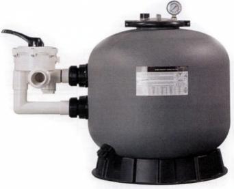 Boční písková filtrace SIDE MASTER 500, čerpadla, filtrace