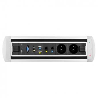 Zásuvkový elektricky otočný panel Vault BTCZ 012