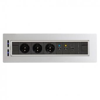 Zásuvkový elektricky otočný panel Vault BTCZ V 002