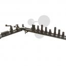 Optická lavice s tříhranným profilem PREMIUM, 0,5 m