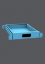 Kovová dílenská skříňka na nářadí NAR 01 B