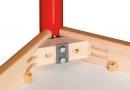 Kulatý dřevěný stůl s rektifikační patkou průměr 120 cm - x66.9hh.color