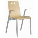 Alba Konferenční židle Berni dřevěná nebo čalouněná