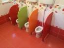 Dětská dělící stěna do koupelny WC 80x55 cm (VxH) 0L390M