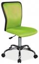 Dětská otáčecí židle Q-099-zelená