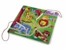 Dětský dřevěný Magnetický labyrint Afrika 547999