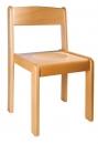 Dřevěná dětská židle TIM přírodní - 17.0xx.00