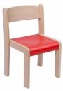 Dřevěná dětská židle Vigo, barevný sedák - D67.0hh.color