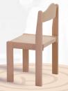 Dřevěná praktická stohovatelná dětská židle Mates 1055 - přírodní