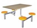 Jídelní set - plastové taburety deska LTD