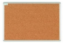 Korková informační závěsná nástěnka hliníkový rám 75x100 cm