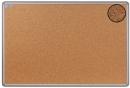 Korková informační závěsná nástěnka hliníkový rám 60x90 cm