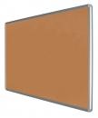 Korková informační závěsná nástěnka hliníkový rám 150x120 cm