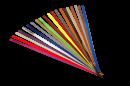 Magnetické barevné nástěnkové tabulové pásky 2. sada barev 60x1,5 cm