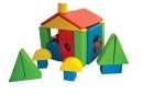 Molitanová stavebnice domeček - 30 dílů