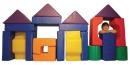 Molitanová stavebnice Šest tvarů - 20 dílů