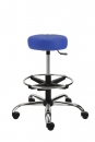 Pracovní židle NORA čalouněný sedák