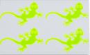 Reflexní samolepky - Ještěrka