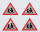 Reflexní samolepky - Pozor děti
