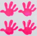 Reflexní samolepky - Ruka růžová