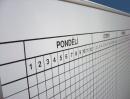 Rozvrhová magnetická školní tabule pro 40 tříd 12 vyučovacích hodin
