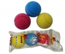 Soft tenis míček 3 kusy