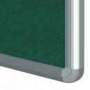 Textilní filcová informační nástěnka 75x100 cm