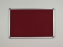 Textilní závěsná nástěnka tabule 120x90 cm různé barvy